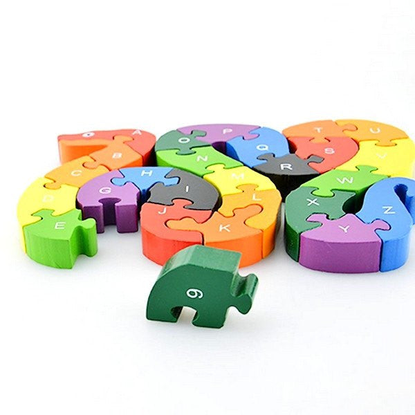 Cognitive educational toys – Educational Winding Snake Puzzle