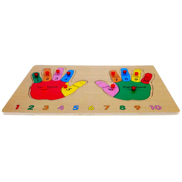 Cognitive educational toys – Finger Learning Puzzle Board