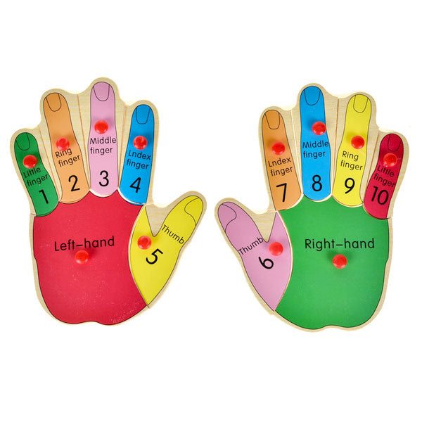 Cognitive educational toys – Finger Learning Puzzle Hands
