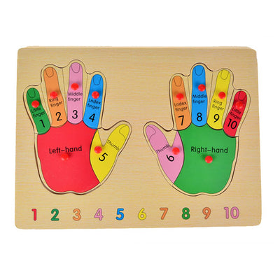 Cognitive educational toys – Finger Learning Puzzle