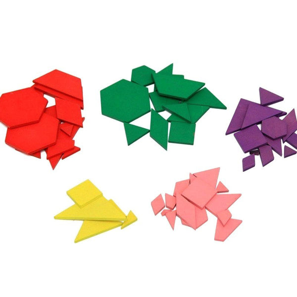 Cognitive educational toys – Geometry Colored Shapes Overview