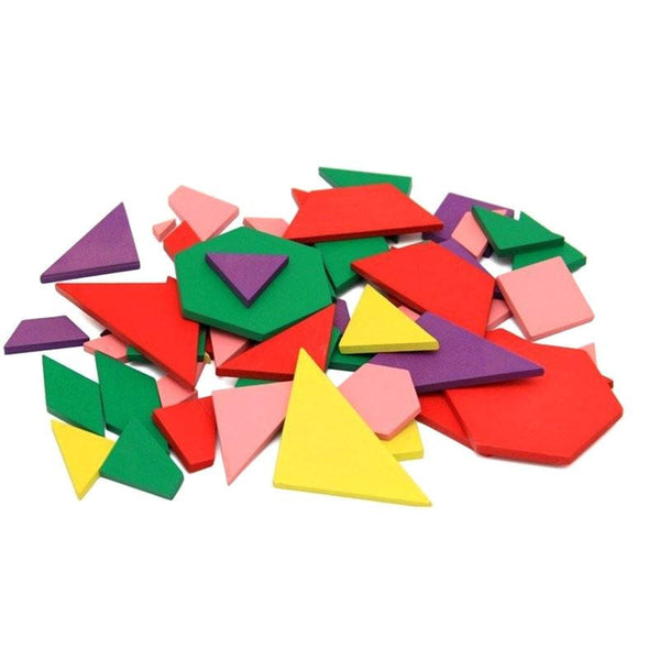 Cognitive educational toys – Geometry Colored Shapes