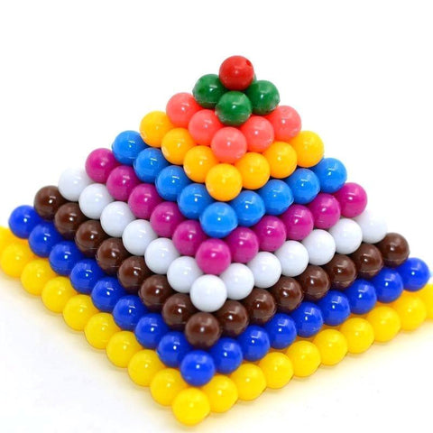 Cognitive educational toys – Math Beads Pyramid