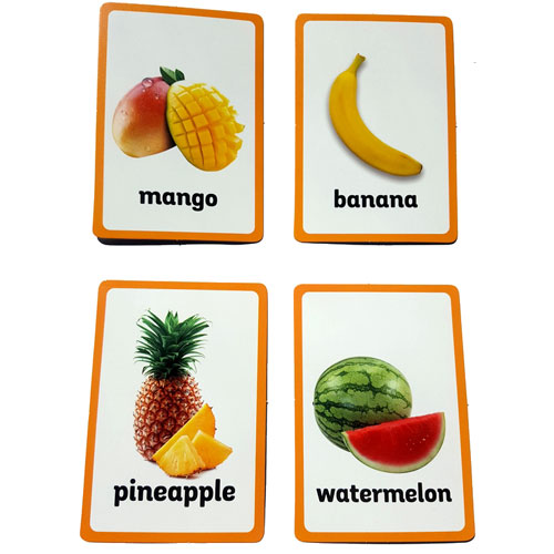 FREE Montessori Fruits Nomenclature Cards