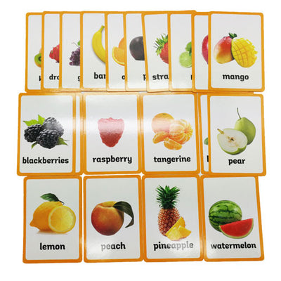 Montessori Fruits Nomenclature Cards