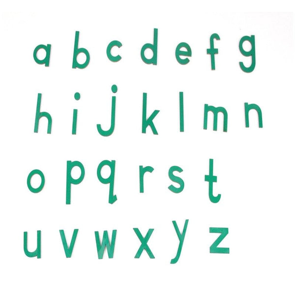 Cognitive educational toys – Movable Alphabets Green