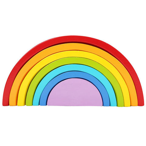 Cognitive educational toys – Rainbow Stacking Blocks