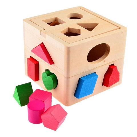 Cognitive educational toys – Shape Sorter