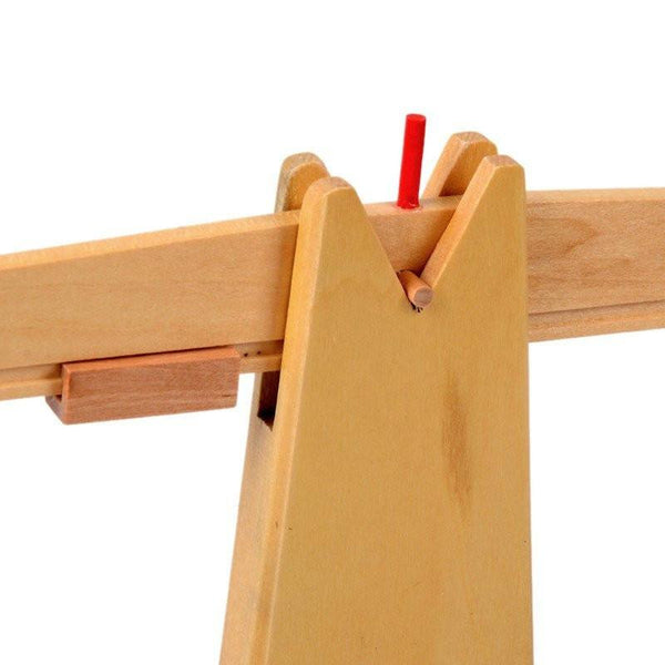 Cognitive educational toys – Wooden Balance Scale Close Up