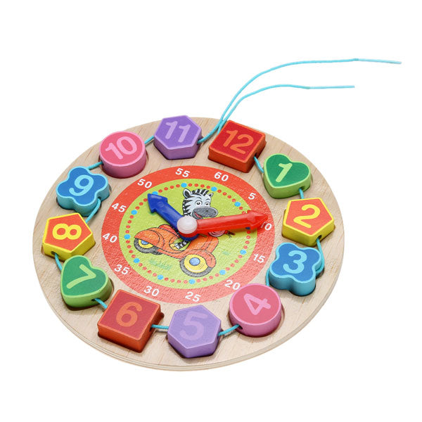 Cognitive educational toys – Wooden Learning Clock Board