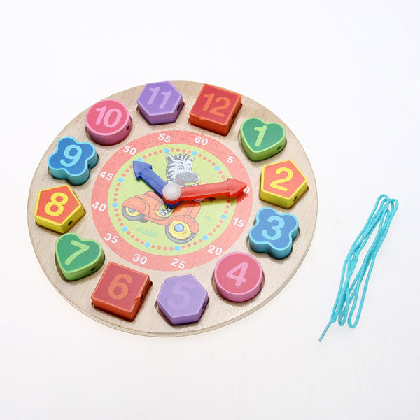 Cognitive educational toys – Wooden Learning Clock Set