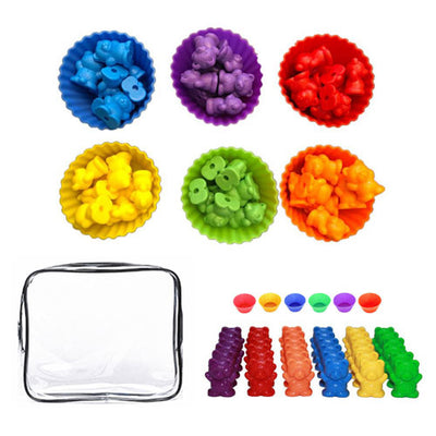 Color Sorting Activity Bears Set