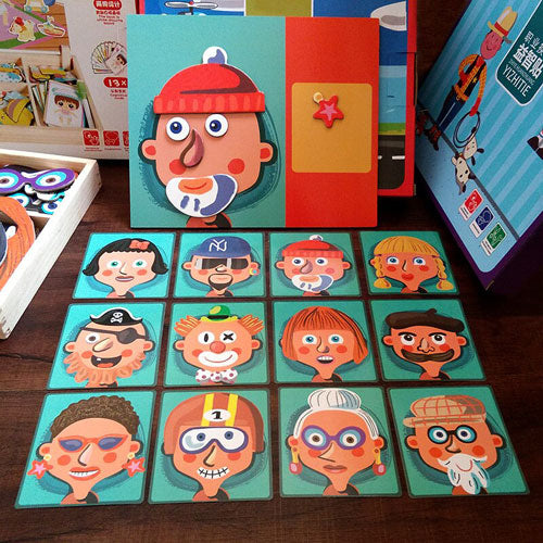 Face Match Puzzle Game