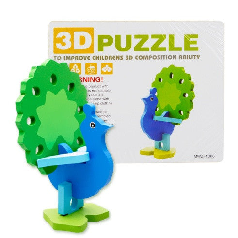 Fine Motor Skills – 3D Animal Puzzle Package