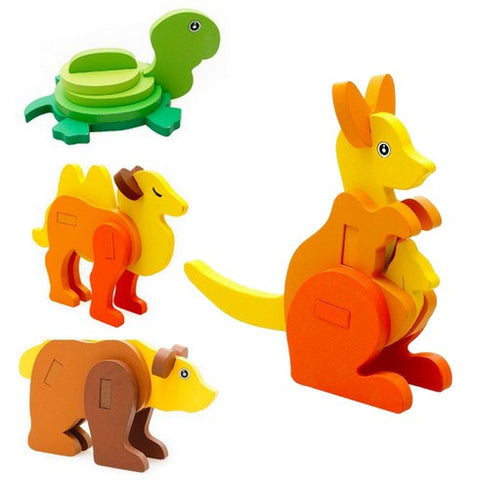 Fine Motor Skills – 3D Animal Puzzle Preview