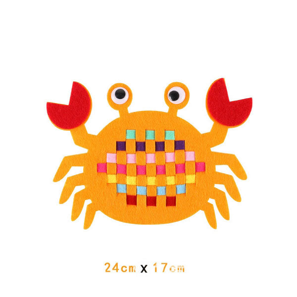 Fine Motor Skills – DIY Educational Weaving Craft Crab