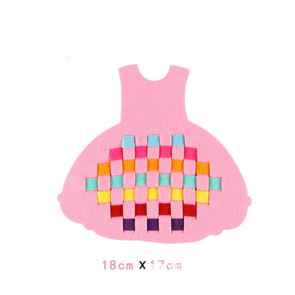 Fine Motor Skills – DIY Educational Weaving Craft Dress