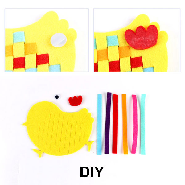 Fine Motor Skills – DIY Educational Weaving Craft Material
