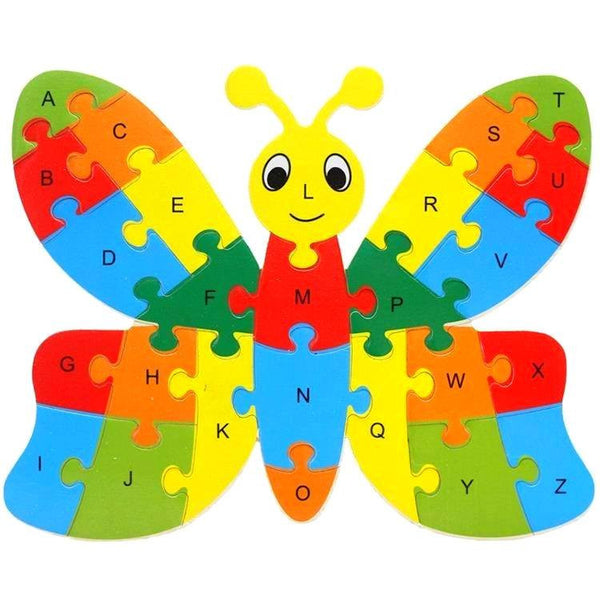 Fine motor skills - Animal Puzzle Butterfly