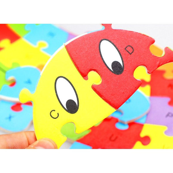 Fine motor skills - Animal Puzzle Hippo Close-up