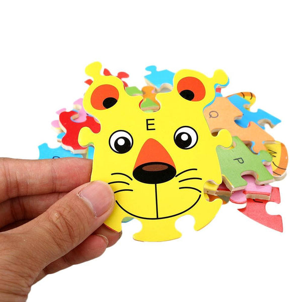 Fine motor skills - Animal Puzzle Lion Close-up