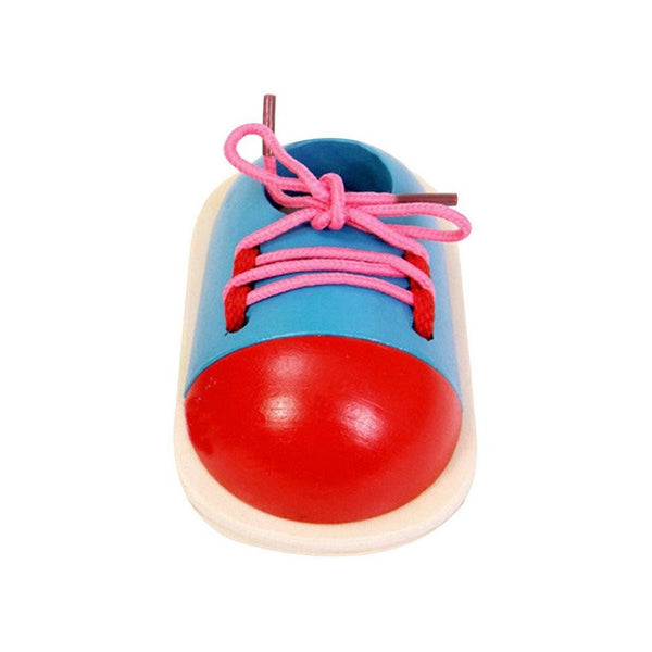 Fine Motor Skills - Toddler Lacing Shoe Blue