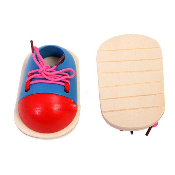 Fine Motor Skills - Toddler Lacing Shoe Sole