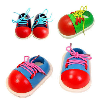 Fine Motor Skills - Toddler Lacing Shoe