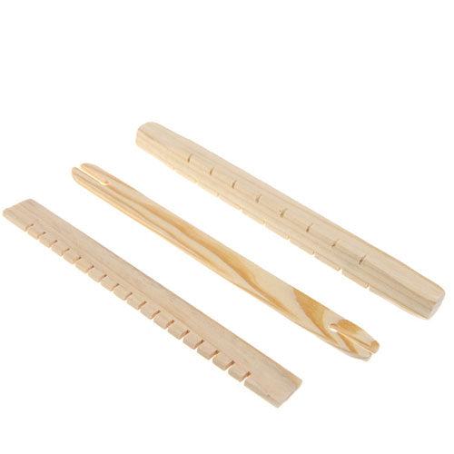 Fine Motor Skills – Montessori Wooden Weaving Loom Accessories