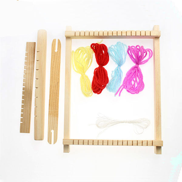 Fine Motor Skills – Montessori Wooden Weaving Loom Package