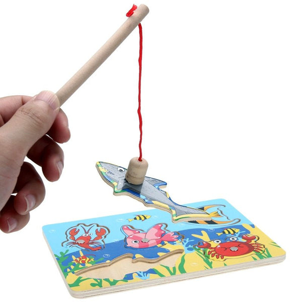 Fine Motor Skills – Puzzle Fishing Game Rod
