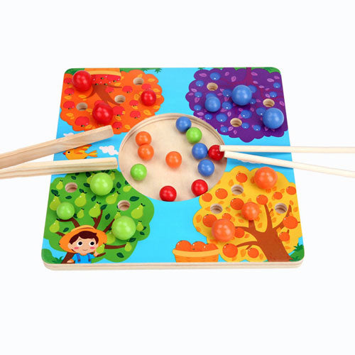 Fruit Tree Sorting Board Montessori Activity