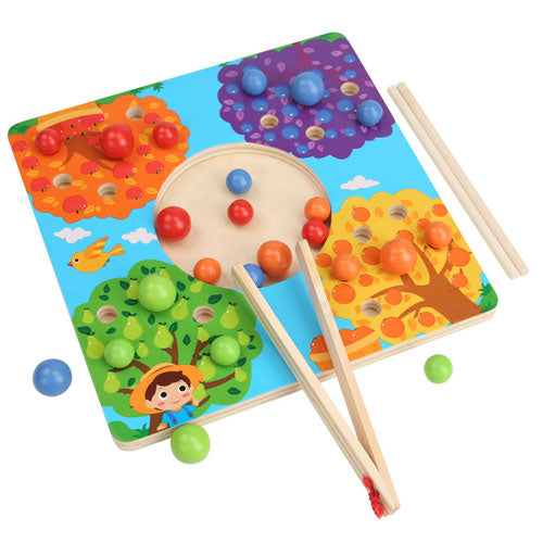 Fruit Tree Sorting Board Montessori