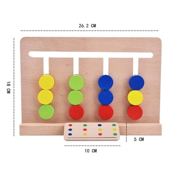 Hand-eye Coordination – Color Matching Game Size