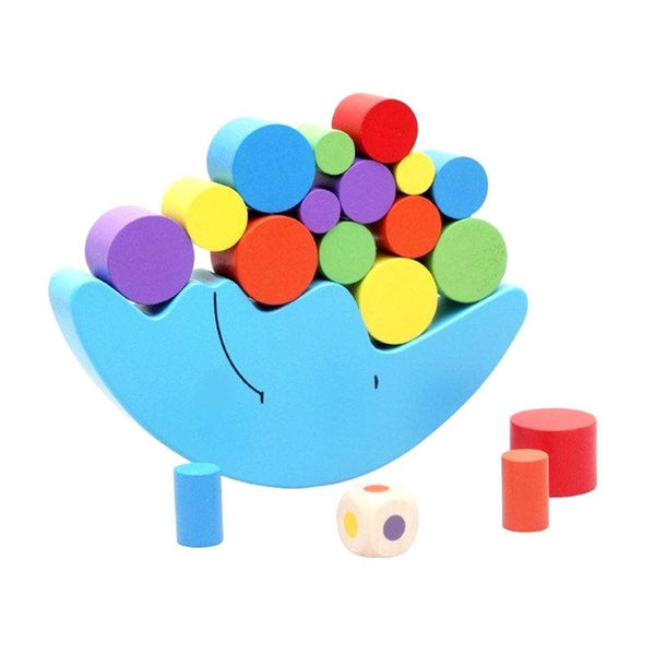 Hand-eye Coordination – Educational Balancing Moon Blue