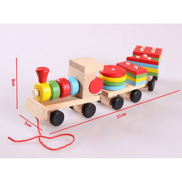 Hand-eye Coordination – Educational Geometry Train Size