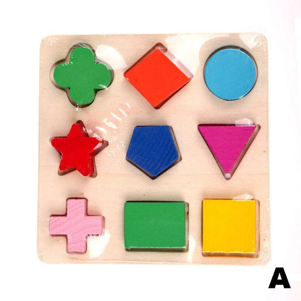 Hand-eye Coordination - Educational Geometry Blocks Board A
