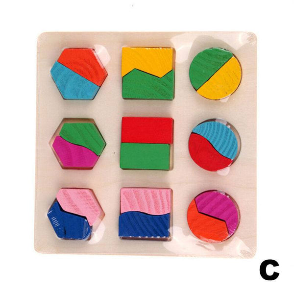 Hand-eye Coordination - Educational Geometry Blocks Board C