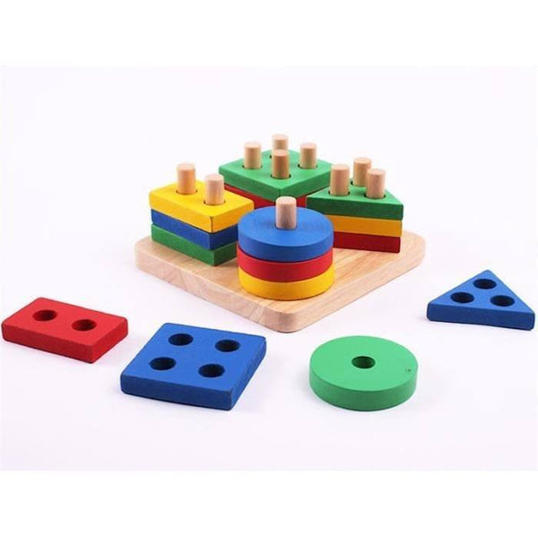 Hand-eye Coordination – Geometry Colored Board Overview