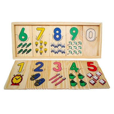 Hand-eye Coordination – Numbers Matching Game