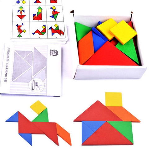 Hand-eye Coordination – Tangram Shape Learning Set Overview