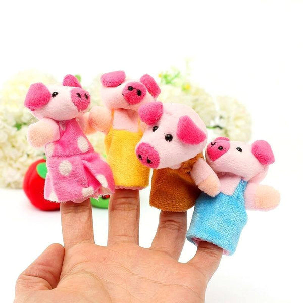 Hand-eye Coordination – The Three Little Pigs Puppets Pigs