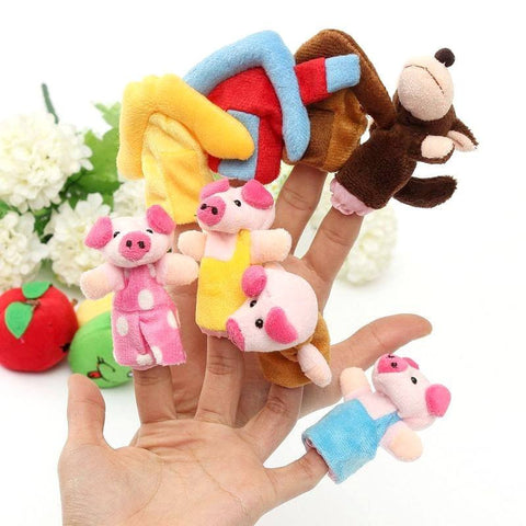 Get the Three Little Pigs Finger Puppets