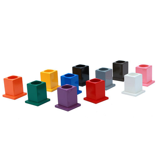 Montessori Classroom Decoration Colored Pencil Holder Set Overview