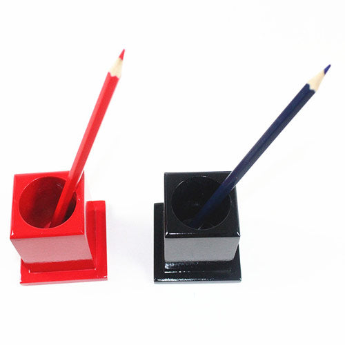 Montessori Classroom Decoration Colored Pencil Holder Set Red Black