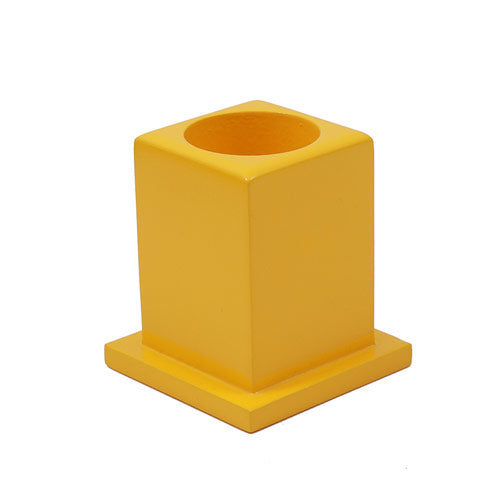 Montessori Classroom Decoration Colored Pencil Holder Set yellow