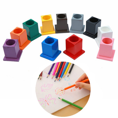 Montessori Classroom Decoration Colored Pencil Holder Set