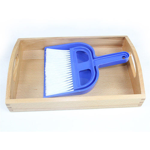 Montessori Crumbing Tray blue