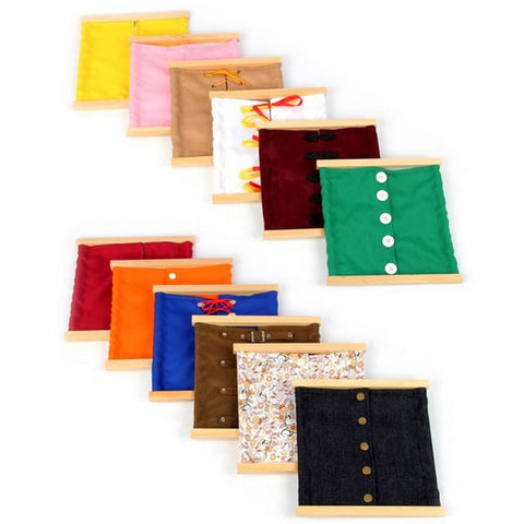 Montessori Dressing Frames Set