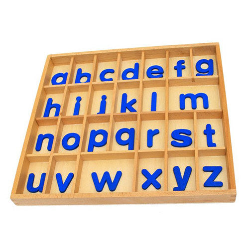 montessori wooden alphabet box tray